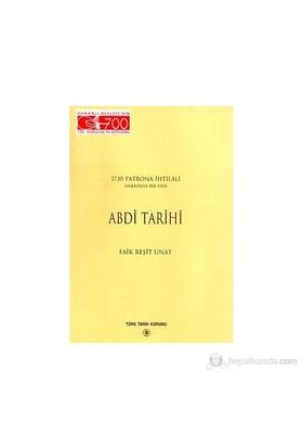 Abdi Tarihi-Faik Reşit Unat