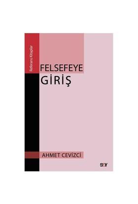 Felsefeye Giriş-Ahmet Cevizci