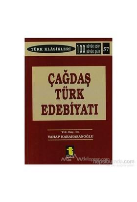 Çağdaş Türk Edebiyatı-Vahap Kabahasanoğlu