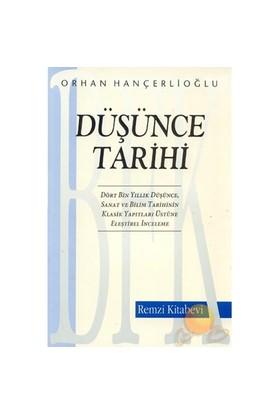 Düşünce Tarihi - Orhan Hançerlioğlu