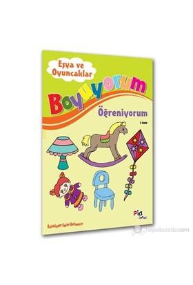 Boyuyorum Öğreniyorum_Eşya Ve Oyuncaklar-Aziz Sivaslıoğlu