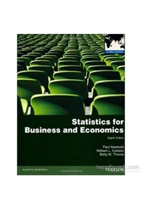 Statistics for Business and Economics 8e PIE - Betty M. Thorne