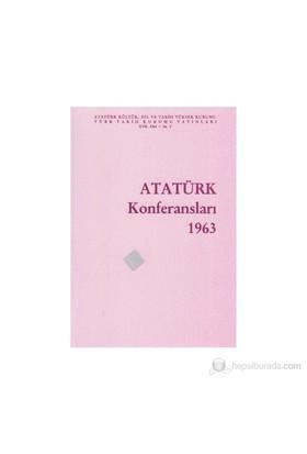 Atatürk Konferansları 1963 Cilt: 1-Kolektif