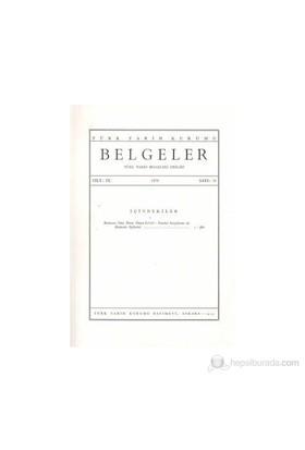 Türk Tarih Belgeleri Dergisi Cilt: 9 Sayı: 13
