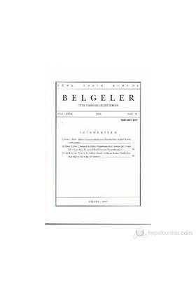 Türk Tarih Belgeleri Dergisi Cilt: 27 Sayı: 31-Kolektif