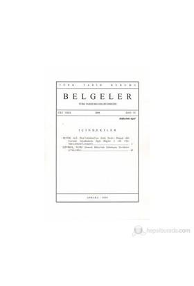 Türk Tarih Belgeleri Dergisi Cilt: 29 Sayı: 33-Kolektif