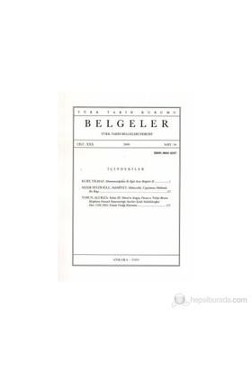 Türk Tarih Belgeleri Dergisi Cilt: 30 Sayı: 34-Kolektif
