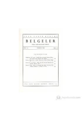 Türk Tarih Belgeleri Dergisi Cilt: 1 Sayı: 2-Kolektif