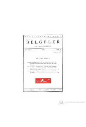 Türk Tarih Belgeleri Dergisi Cilt: 19 Sayı: 23-Kolektif