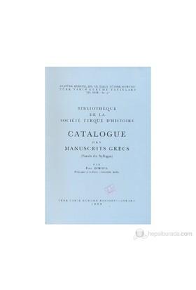 Catalogue Des Manuscrits Grecs (Fonds Du Syllogos)-Paul Moraux