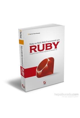 Ruby - Ruby on Rails Web Framework için