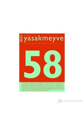 Yasakmeyve Sayı: 58