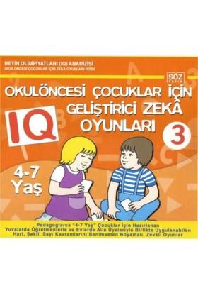 Okul Öncesi Çocuklar İçin Iq Geliştirici Zeka Oyunları 3