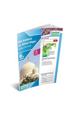Zambak Yayınları 6. Sınıf Din Kültürü Ve Ahlak Bilgisi Yaprak Test