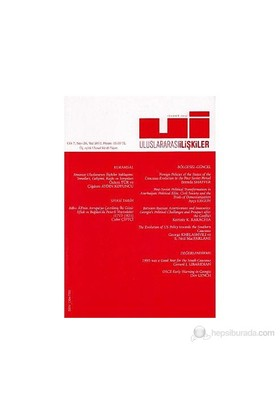 Uluslararası İlişkiler Dergisi Sayı: 26