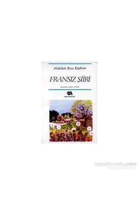 Fransız Şiiri Başlangıcından Bugüne-Elia Kazan