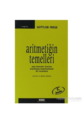Aritmetiğin Temelleri-Gottlob Frege