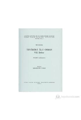 Tevarih-İ Al-İ Osman 7. Defter