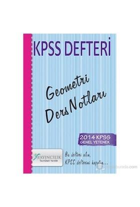 X Yayıncılık KPSS 2014 Defteri Geometri Ders Notları