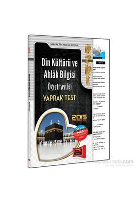 Yargı 2015 Öabt Din Kültürü Ve Ahlak Bilgisi Öğretmenliği Yaprak Test
