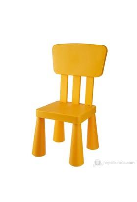 Modüler Mini Sandalye Turuncu