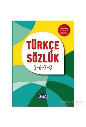 Parıltı İlköğretim Türkçe Sözlük 5-6-7-8-Komisyon