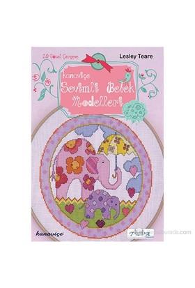 Kanaviçe Sevimli Bebek Modelleri - Lesley Teare