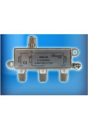 Atlanta ASU-03 1/3 Uydu Bölücü (5-2400 MHz)