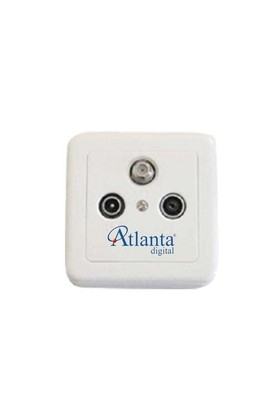 Atlanta 004-G Geçişli Uydu Prizi