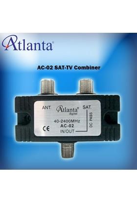 Atlanta Ac 02 Uydu-Tv Sinyal Birleştirici