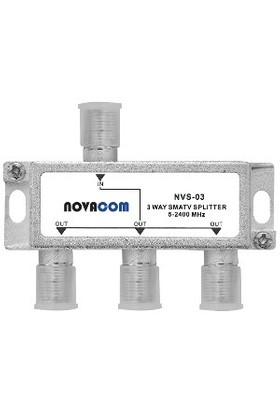 Novacom Nvs-03 1/3 Uydu Bölücü (5-2400 Mhz)