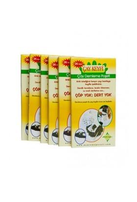 Çay Keyfi Ev Tipi Çay Demleme Poşeti 40'Lı Paket 1000 Adet