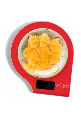 I Love Home Digital Mutfak Tartısı Kırmızı
