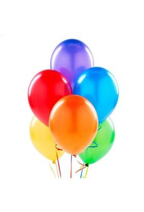 Hilal 50 Adet Metalik Uçan Balon