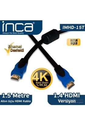 Inca Inca 1,8 Metre Hdmı Kablo Poşetli Imhd-15T