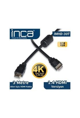 Inca Inca 3 Metre Hdmı Kablo Poşetli Imhd-30T