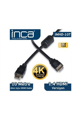Inca Inca 10 Metre 1,4 V 3 D Altın Uçlu Imhd-10T