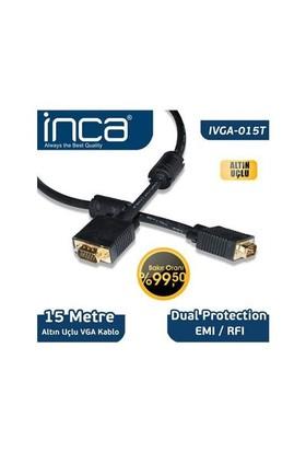 Inca Nca Vga To Vga 15 Metre Altın Uçlu Kablo Ivga-015T