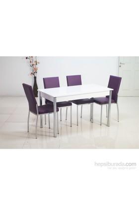 Teknoset Mutfak Masa Takımı Yemek Masası