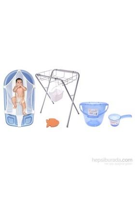 Sema Baby Lüks Bebek Banyo Seti 6 Parça