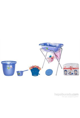 Sevi Bebe Lüks Bebek Banyo Seti 7 Parça