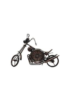 Fidex Home Dekoratif Saat-Kahve Motosiklet