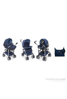 Chicco Trio Sprint Seyahat Sistem Bebek Arabası / Blue