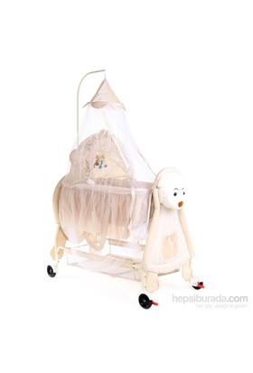 Babylife Bl237 Bebek Beşiği Krem