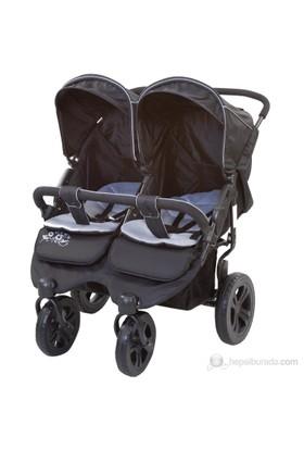 Sunny Baby Sb-814 Sweety İkiz Bebek Arabası / Siyah