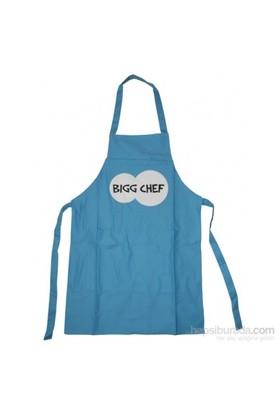 Bigg Mutfak Önlüğü Mavi