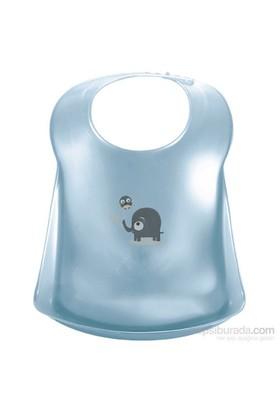 Bebe Jou Önlük Plastik Bibi&Bobo Mavi