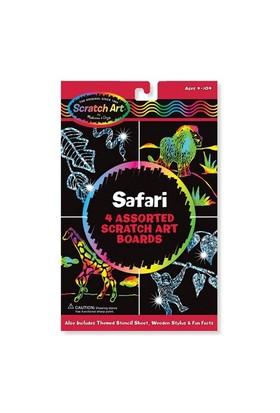 Melissa & Doug Kazıma Sanatı Renkleri Ortaya Çıkar Safari