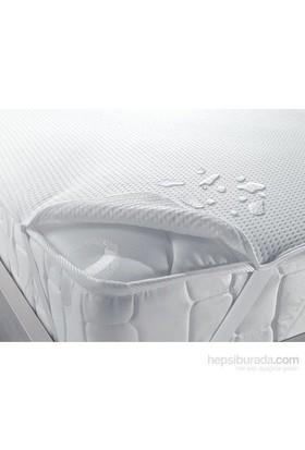 Taç Sıvı Geçirmez Çift Kişilik Polyester/Pamuk Alez