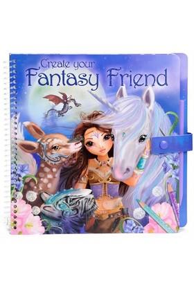 Fantasy Model &Friends Boyama Kitabı Dk07847